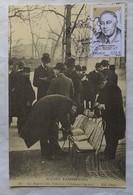 Carte Maximum Card Marché Aux Timbres Paris Roosevelt - 2000-09