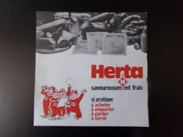 """Herta """" Savoureusement Frais """" ( Disque Souple ) - Vinyl Records"""