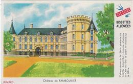 Buvard Biscottes Gregoire  Chateau De Rambouillet - Zwieback