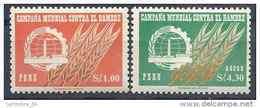 1963 PEROU 464+ PA 189**  Campagne Contre La Faim - Peru