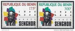 2006 BENIN 986-87 ** Senghor - Benin – Dahomey (1960-...)