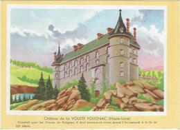 Buvard Biscottes Gregoire  Chateau De La Voulte Polignac 43 - Zwieback