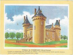 Buvard Biscottes Gregoire  Chateau De Combourg 35 - Zwieback