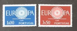 PORTUGAL   Europa 1960   N° Y&T 879 Et 880  ** - Nuevos
