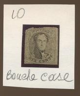 Numéro 10. Foutu       Cote 600 Euros ??? - 1858-1862 Medaglioni (9/12)