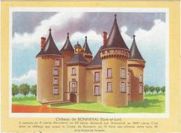 Buvard Biscottes Gregoire Chateau De Bonneval 28 - Zwieback