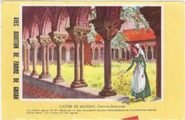 Buvard Biscottes Gregoire Chateau De  Moissac  82 - Zwieback