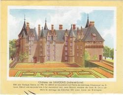 Buvard Biscottes Gregoire Chateau De Langeais 37 - Zwieback