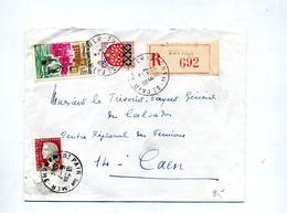 Lettre Recommandée Saint Pair Sur Decaris Dunkerque - Marcophilie (Lettres)