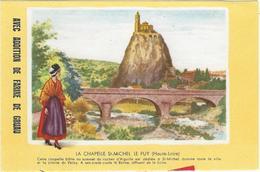 Buvard Biscottes Gregoire La Chapelle Saint Michel Le Puy 43 - Zwieback