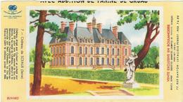 Buvard Biscottes Gregoire Chateau De Sceaux - Zwieback