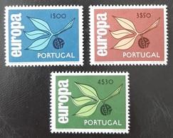 PORTUGAL   Europa 1965   N° Y&T 971 à 973  ** - 1910-... Republic