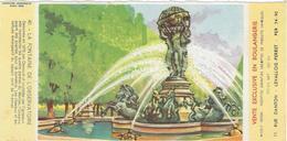 Buvard Biscottes Gregoire  La Fontaine De L'observatoire - Zwieback