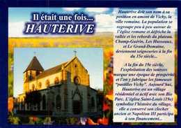 Dep 03 , Cpm Il était Une Fois HAUTERIVE , Mimifleur Artisan Créateur , 33124 AUROS  (22028) - Autres Communes