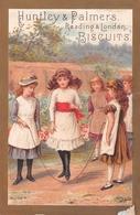 Chromo - Biscuits HUNTLEY & PALMERS, Reading & London - Saut à La Corde - Confectionery & Biscuits