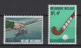 Belgique: 1970 :  COB N° 1547/48 **, MNH. - Ungebraucht