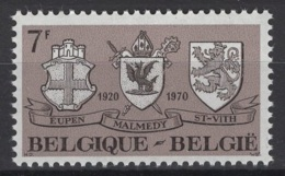 Belgique: 1970 :  COB N° 1566 **, MNH. - Ungebraucht