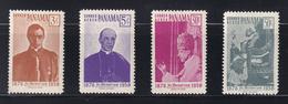 Panama - 1959 - Sc 422 C210-C212 - Pope Pius XII, 1876-1958 - MNH - Panamá