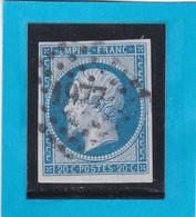 N° 14 A  -  PC 1977   METZ   ( 55 )  MOSELLE   - REF 1447 + Variété - 1853-1860 Napoleon III