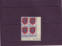 PREO N° 105 - 4F ANJOU - E De E+F - 1° Tirage Du 10.1.50 Au 13.1.50 - 12.01.1950 - - Prematasellados