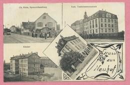 67 - GRUSS Aus NEUHOF - STRASBOURG - Spezereihandlung Ch. KLEIN - Wirtschaft Zum Goldenen Kreuz - Strasbourg