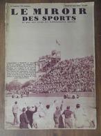 LE MIROIR DES SPORTS 830 (25/06/1935)- GRAND PRIX ACF- MARCHE (PARIS-STRASBOURG)- AVIATION- ÉQUIPE DE  FRANCE POUR TOUR - 1900 - 1949