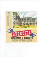 Buvard Biscottes Gregoire  Chateau De Beauregard 41 - Zwieback