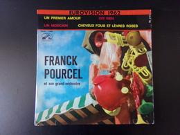 """Franck Pourcel """" Un Premier Amour + Dis Rien + Cheveux Fous Et Lèvres Roses + Un Mexicain """" - Vinyl Records"""