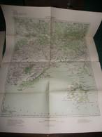 GRECE : KAVALA , CARTE De 1904 K.u.K. MILITÄRGEOGRAPHISCHES INSTITUT - Geographical Maps
