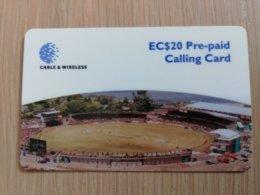GRENADA $20- STADION   GRE-P5  Prepaid   Fine Used Card  ** 2088** - Grenada