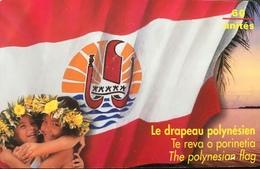 POLYNESIE FRANCAISE  -  PhoneCard  - Drapeau Polynésien  -  60 Unités  -  PF 73 - French Polynesia