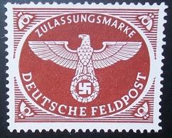 N°1051E BRIEFMARKE DEUTSCHES REICH NEU OHNE GUMMI - Luftpost