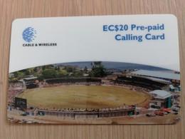 GRENADA $20- STADION   GRE-P12  Prepaid   Fine Used Card  ** 2089** - Grenada