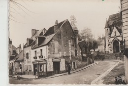 Saint-Cyr-sur-Loire  37   G F  Croisement De Route Nationale 152 Et Route De Bachellerie Café-Tabac Avec Pompe A Essence - Saint-Cyr-sur-Loire