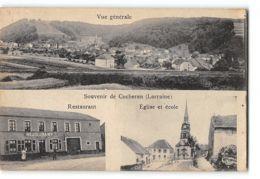 CPA 57 Souvenir De Cocheren Restaurant église Et école - France