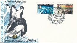 TERRES AUSTRALIAN ANTARCTIC TERRITORY - CASEY  -   17.1.1972 - Australisches Antarktis-Territorium (AAT)