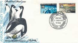 TERRES AUSTRALIAN ANTARCTIC TERRITORY - MACQUARIES  -   23.11.1971 - Australisches Antarktis-Territorium (AAT)