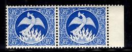 "France Timbe D'épargne ""Phenix"" Maury N° 701N En Paire Neufs ** MNH. B/TB. A Saisir! - Unused Stamps"