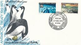 TERRES AUSTRALIAN ANTARCTIC TERRITORY - MAWSON  -   27.12.1971 - Australisches Antarktis-Territorium (AAT)
