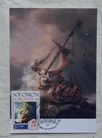 Carte Maximum Card Rembrandt  Tempête Sur La Mer De La Galilée - Arte