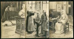 LES EXPULSEES - SERIE DE 3 CARTES Illustreés Par P. KAUFFMANN - Kauffmann, Paul