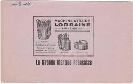 Buvard Machine A Traire  Lorraine 55 Bar Le Duc - Dairy