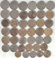 Colombia Collection Of 41 Coins 1989-2011 All Listed & Different - Colombia