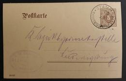 Württemberg 1910, Postkarte DP34 STAMMHEIM O.A. LUDWIGSBURG - Wurtemberg