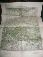 BULGARIE : STARA ZAGORA ( ESKI ZAGRA )  , CARTE De 1908 K.u.K. MILITÄRGEOGRAPHISCHES INSTITUT - Geographical Maps