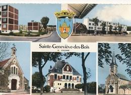 91) Sainte-Geneviève-des-Bois : Multi-vues (1967) - Sainte Genevieve Des Bois