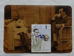 Carte Maximum Card   Ghandi Indépendance De L' Inde 1999  Tchad - Guerre Mondiale (Seconde)