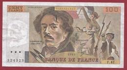 """100 Francs """"Delacroix"""" --1981-----SUP---ALPH.F.47 - 100 F 1978-1995 ''Delacroix''"""