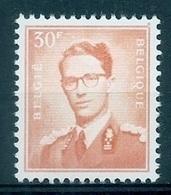 BELGIE Boudewijn Bril * Nr 1074 P3 * Postfris Xx * FLUOR  PAPIER - 1953-1972 Glasses