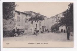 CP 83 CABASSE Place De La Mairie - France